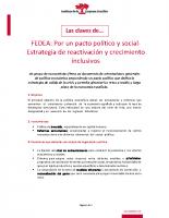 Las claves de FEDEA-Por un pacto político y social
