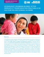 FR: 10_ONU FEMMES. Le COVID-19 et l_économie du soin