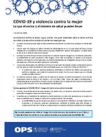 ES: 11_WHO. COVID-19 y violencia contra la mujer