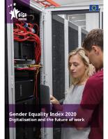 EN: 13_EIGE. Gender Equality Index 2020