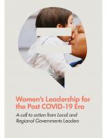 EN: 18_UCLG Women. Metropolis. Womens leadership for the Post COVID-19 Era