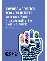 EN: 19_Gender Five Plus. TOWARDS A GENDERED RECOVERY IN THE EU