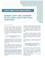 EN: 20_WHO. GHWN Public Consultation of gender equitably leadership