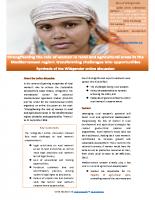 EN: 22_CIHEAM. Synthesis report rural women